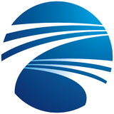 Logotipo do globo Imagens de Stock Royalty Free