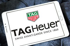 Logotipo do heuer da etiqueta Imagem de Stock