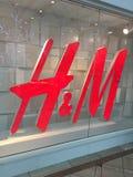 Logotipo do HM fotos de stock royalty free
