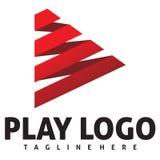 Logotipo do jogo Imagem de Stock Royalty Free