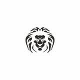 Logotipo do leão do rei Imagem de Stock