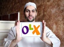Logotipo do mercado de OLX Imagem de Stock