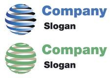 Logotipo do mundo Foto de Stock Royalty Free