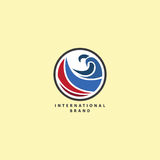 Logotipo do negócio Fotografia de Stock Royalty Free