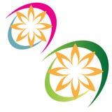 Logotipo do negócio da companhia ilustração do vetor