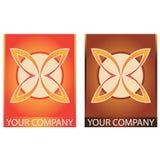 Logotipo do negócio da companhia Fotos de Stock Royalty Free