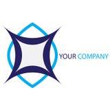 Logotipo do negócio da companhia Fotografia de Stock Royalty Free