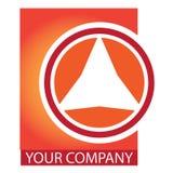 Logotipo do negócio da companhia Foto de Stock Royalty Free