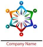 Logotipo do negócio da equipe Imagens de Stock