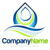 Logotipo do negócio Foto de Stock Royalty Free