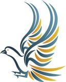 Logotipo do pássaro Imagem de Stock