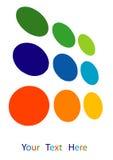 Logotipo do painel solar Foto de Stock