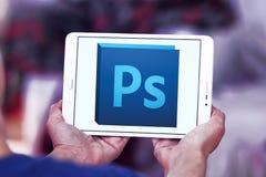 Logotipo do photoshop de Adobe Foto de Stock