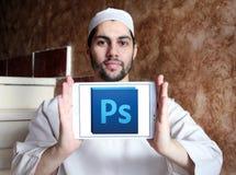 Logotipo do photoshop de Adobe Fotografia de Stock
