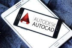 Logotipo do programa de AutoCAD Imagem de Stock