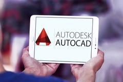 Logotipo do programa de AutoCAD Fotografia de Stock