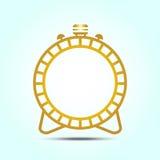Logotipo do projeto do alarme Fotos de Stock