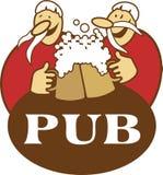 Logotipo do Pub Imagens de Stock Royalty Free