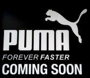 Logotipo do PUMA Imagens de Stock