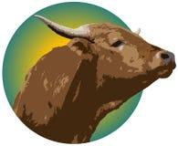 Logotipo do Ranching Fotografia de Stock Royalty Free