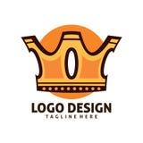 Logotipo do rei Imagens de Stock Royalty Free