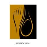 Logotipo do restaurante Imagem de Stock Royalty Free