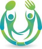 Logotipo do restaurante Imagens de Stock Royalty Free