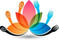 Logotipo do restaurante Fotos de Stock Royalty Free