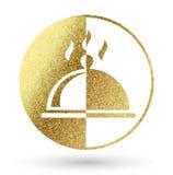 Logotipo do restaurante fotos de stock