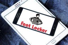 Logotipo do retalho de Foot Locker fotografia de stock royalty free