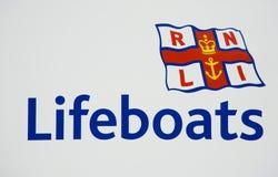 Logotipo do RNLI Imagens de Stock Royalty Free