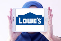 Logotipo do ` s de Lowe Imagens de Stock