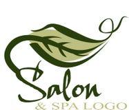 Logotipo do salão de beleza Foto de Stock