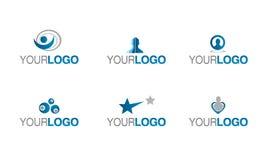 Logotipo do seguro e da prevenção Imagem de Stock Royalty Free