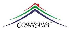 Logotipo do sinal da casa Imagens de Stock Royalty Free