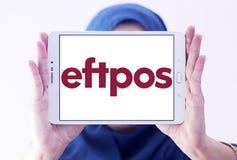 Logotipo do sistema de pagamento de EFTPOS imagem de stock