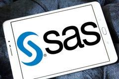 Logotipo do software do SAS Imagens de Stock Royalty Free
