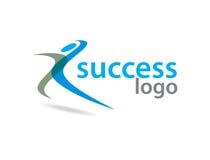 Logotipo do sucesso Imagem de Stock Royalty Free