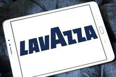 Logotipo do tipo do café de Lavazza Imagem de Stock
