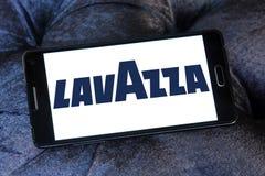 Logotipo do tipo do café de Lavazza Fotos de Stock Royalty Free