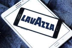 Logotipo do tipo do café de Lavazza Imagens de Stock Royalty Free