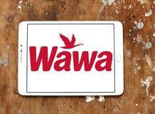 Logotipo do tipo do café de Wawa Fotografia de Stock Royalty Free