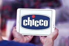 Logotipo do tipo de Chicco Fotografia de Stock
