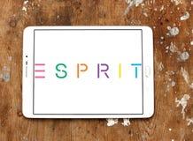 Logotipo do tipo de Esprit Foto de Stock Royalty Free