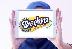 Logotipo do tipo de Shopkins Foto de Stock Royalty Free