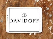 Logotipo do tipo do café de Davidoff Fotos de Stock Royalty Free