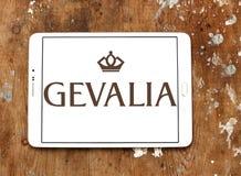 Logotipo do tipo do café de Gevalia Imagem de Stock