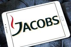 Logotipo do tipo do café de Jacobs Fotos de Stock