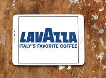 Logotipo do tipo do café de Lavazza Fotografia de Stock Royalty Free