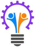 Logotipo do trabalho da equipe Fotos de Stock